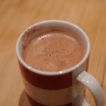 Sugar free hot chocolate with unsweetened almond drink Ecomil