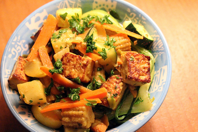 tofu_vegetable_hash