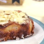 Ecomil vegan recipes, ecomil almond cake, vegan almond cake
