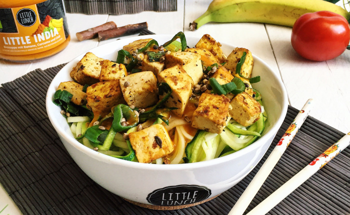 Bianca, Ecomil recipes, vegan recipes, Bianca Zapatka, Recipe of tofu, vegan tofu, Ecomil almond