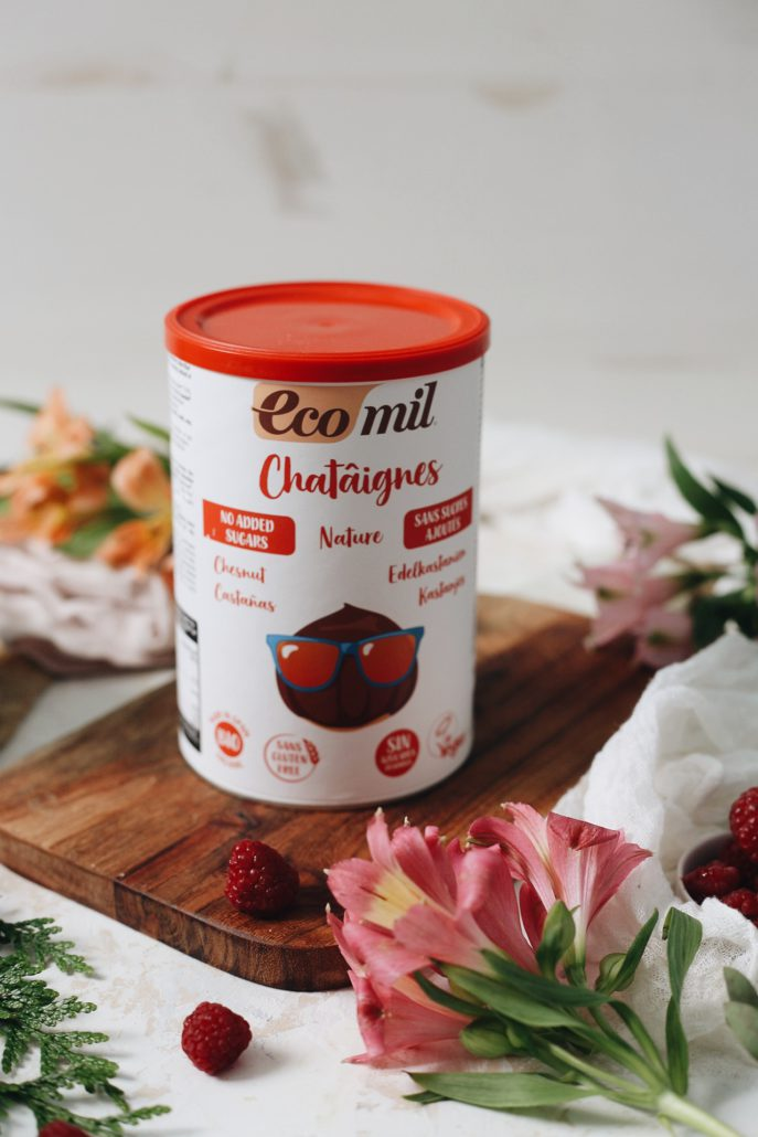 pancake recipe - Chesnut drink in powder Ecomil Instant